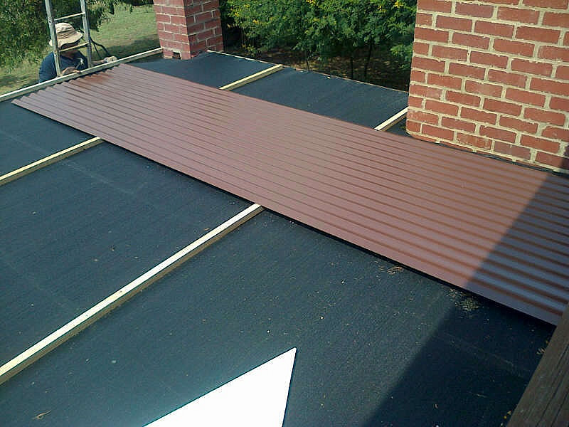 sink-roof-install