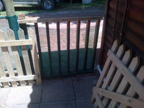 garden fencing grootbrak