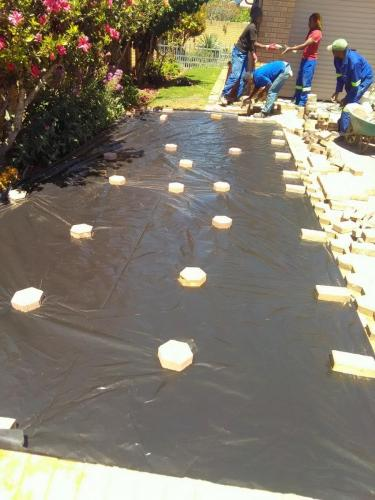 brick pavers mossel bay
