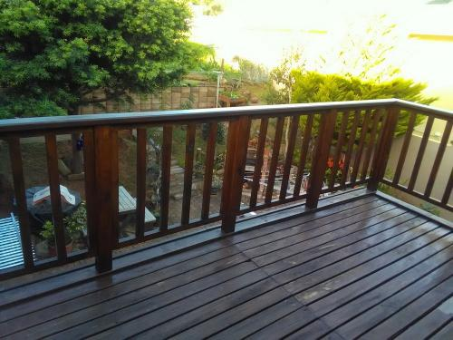 balau decking george