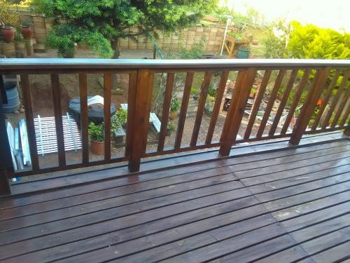 balau decking mossel bay