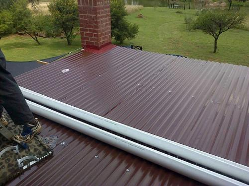 handyman-Fanus-sink-roof-install-garden-route-complete