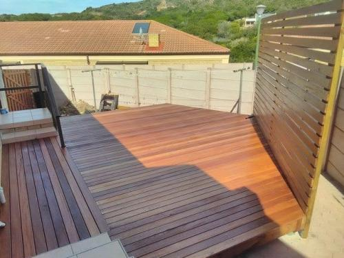 timber decking george