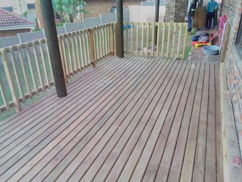 timber decking sedgefield