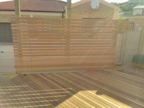 wooden decking wilderness